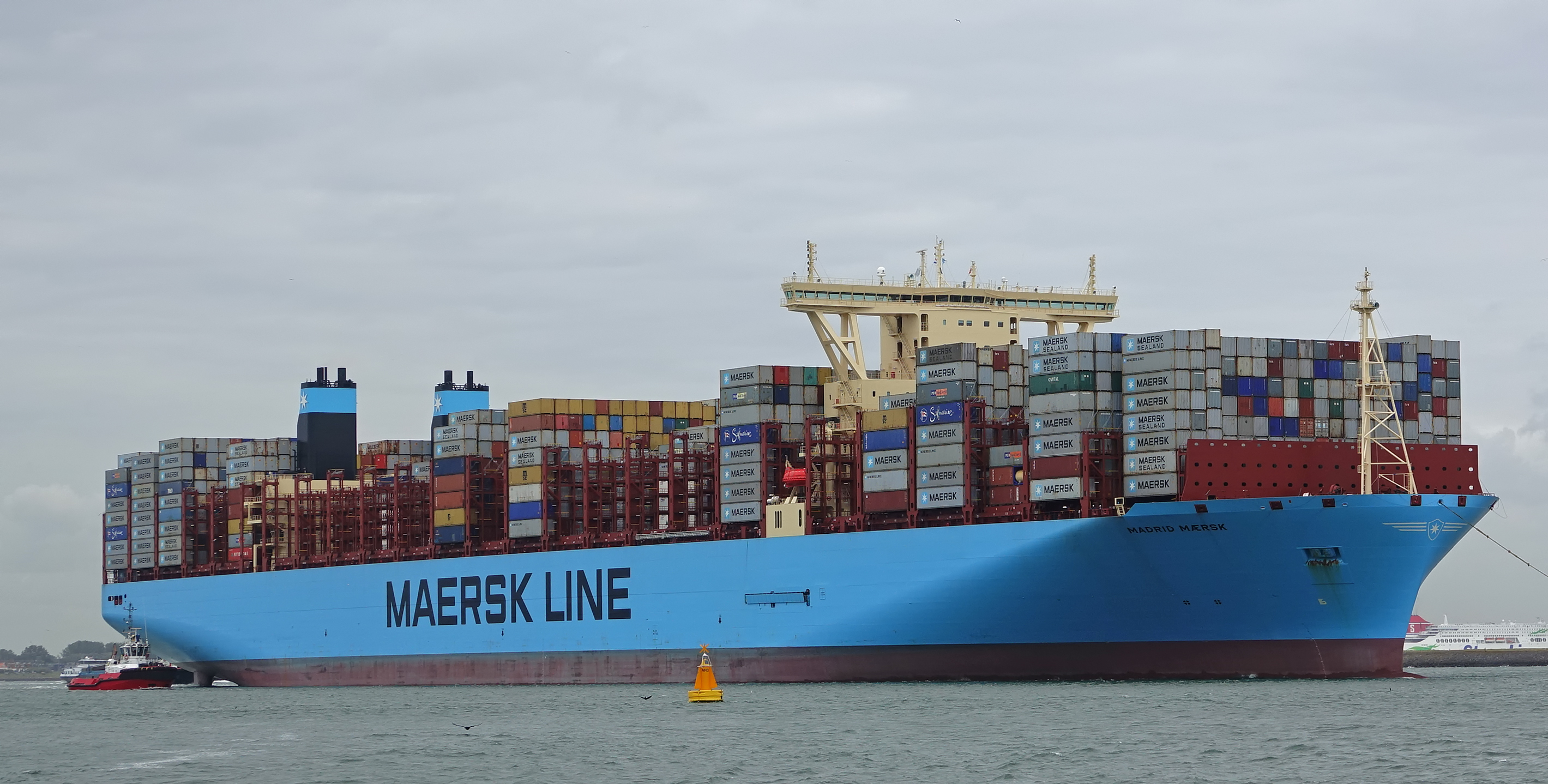 Madrid Maersk ship